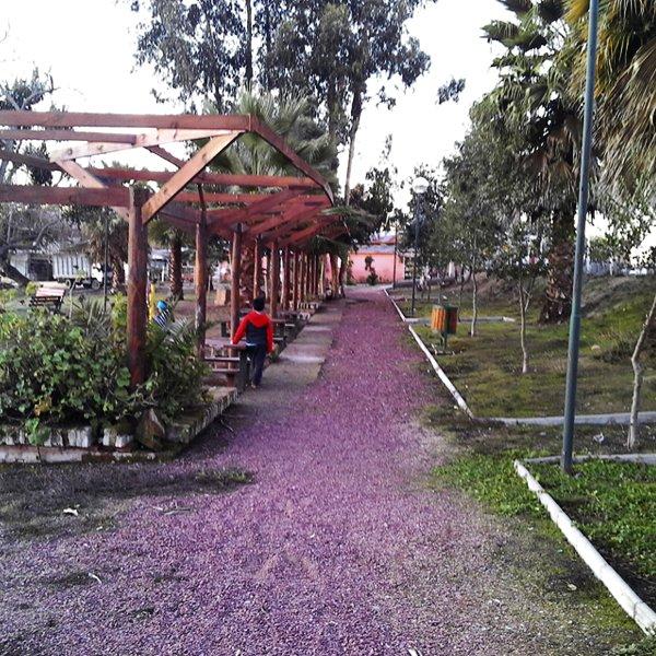 Fotografía de Plaza y Playa Gruta de Lourdes de Llallauquén