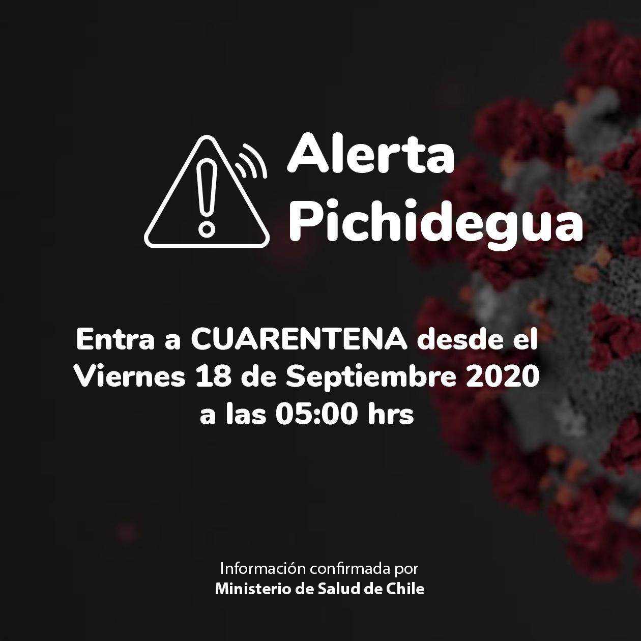 Fotografía de Pichidegua en Cuarentena desde el 18 de Septiembre: Lo que se puede y no en Paso 1