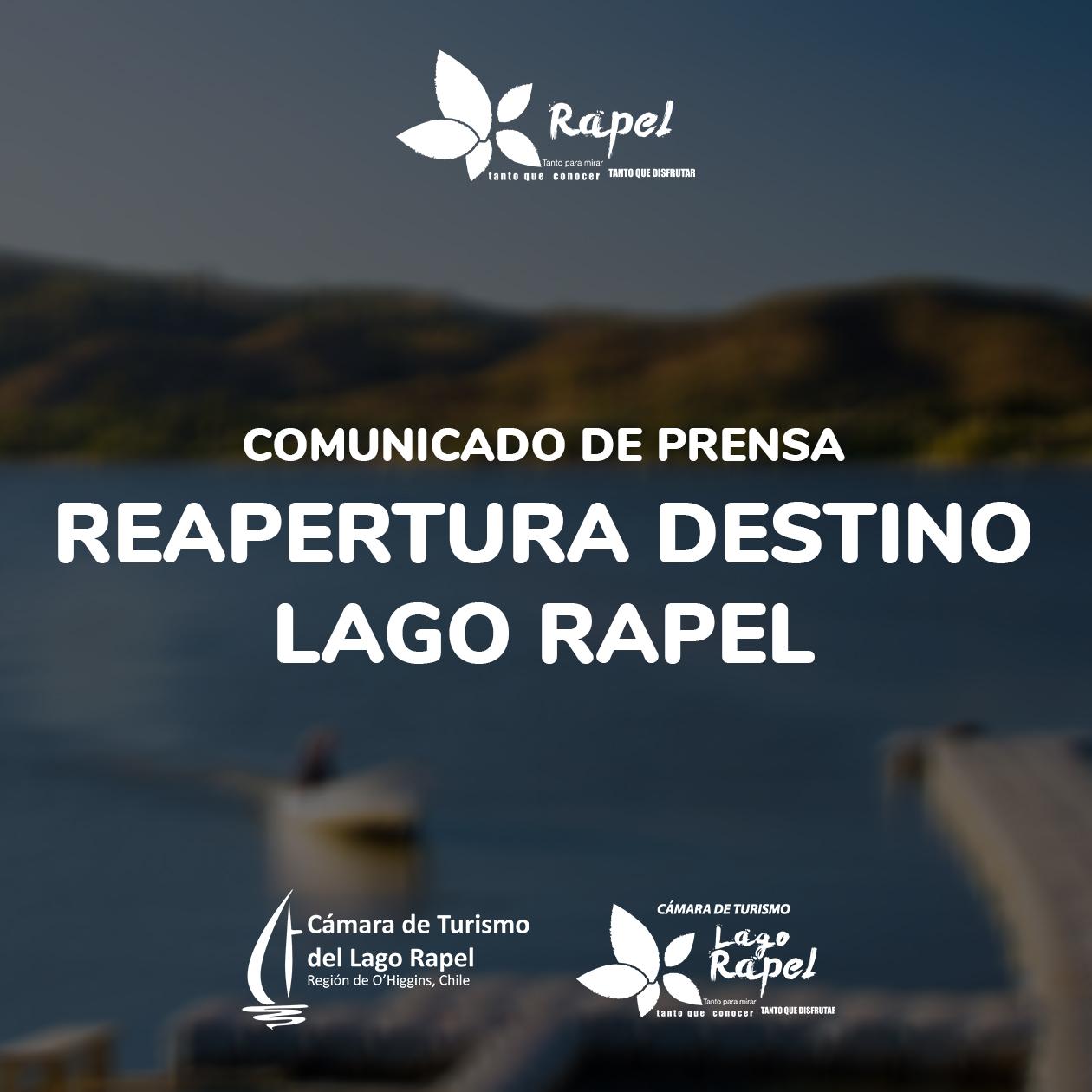 Fotografía de Comunicado Reapertura del Destino Lago Rapel